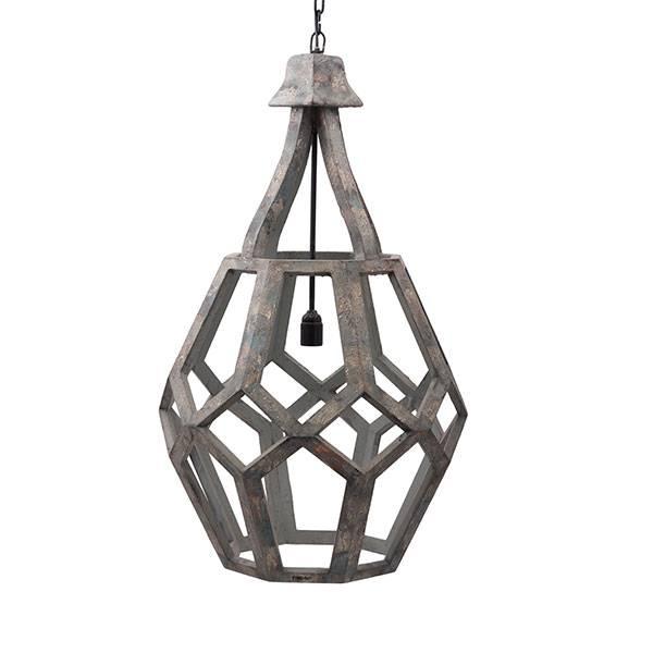 PTMD Collection Hanglamp Mangohout Ø55xH90 cm