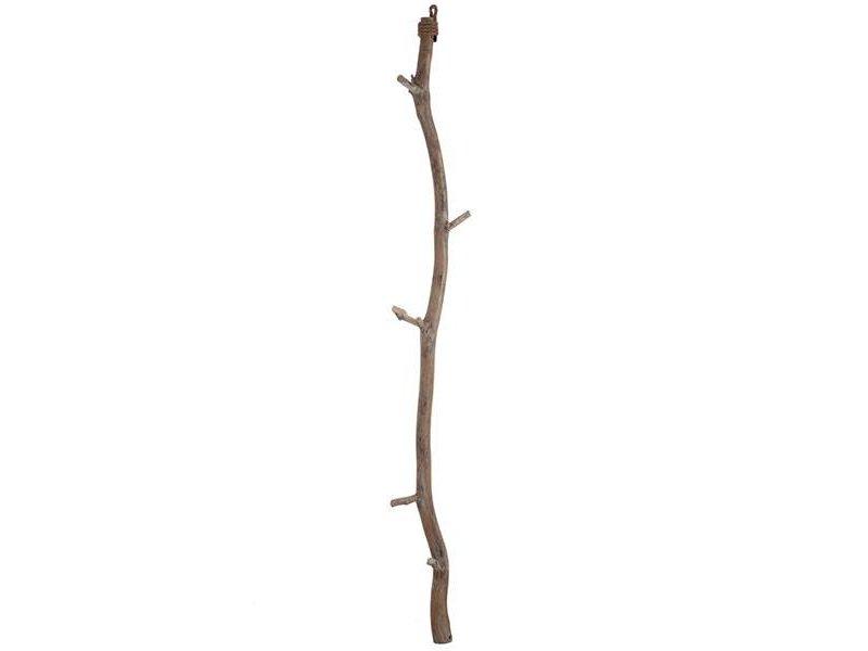 J-Line Hangende Houten Stok - Ø15xH172 cm