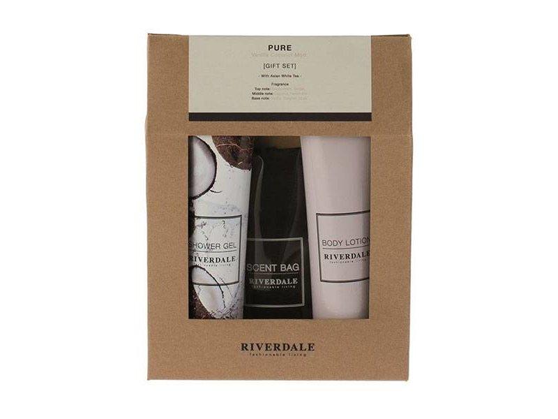 Riverdale Cadeauset Pure - 16x4,5xH21,5 cm