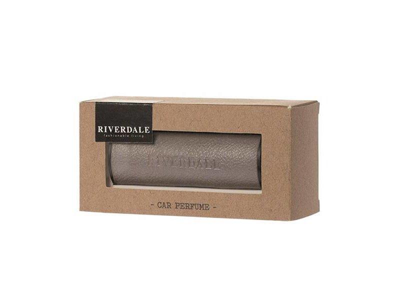 Riverdale Autoparfum Fresh Grijs - 12,5x4,5xH6 cm