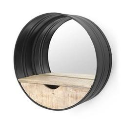Metalen Wandspiegel Rond - Ø40 cm