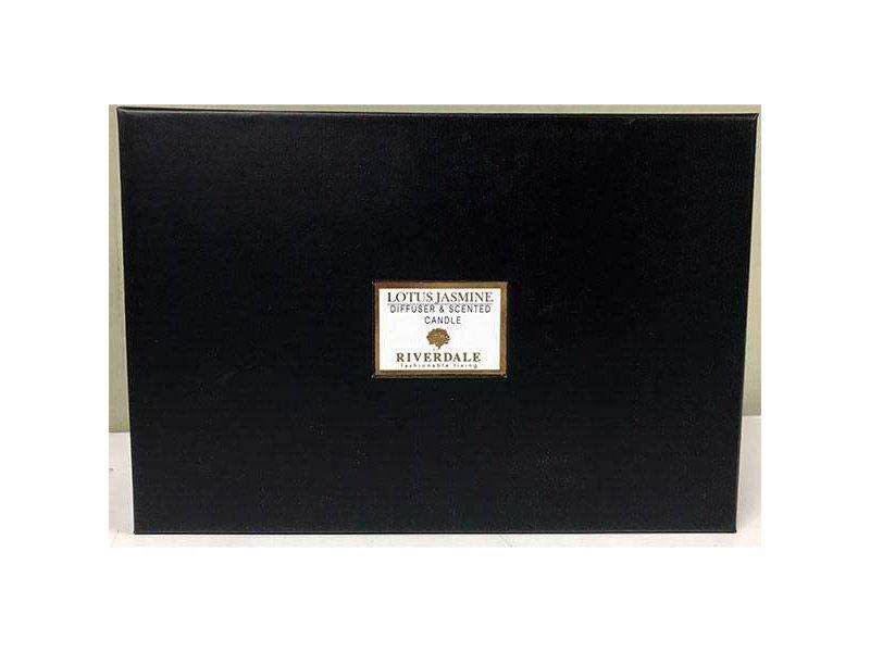 Riverdale Cadeauset Jasmine Wit - 20x9xH14