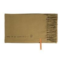 Plaid Gewafeld Groen - 130x170 cm