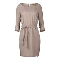 Sjiek jurkje met ceintuur poederroze - M/L