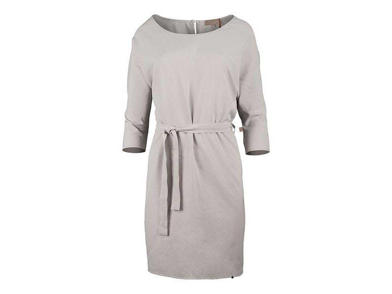 Zusss Sjiek jurkje met ceintuur krijt - M/L
