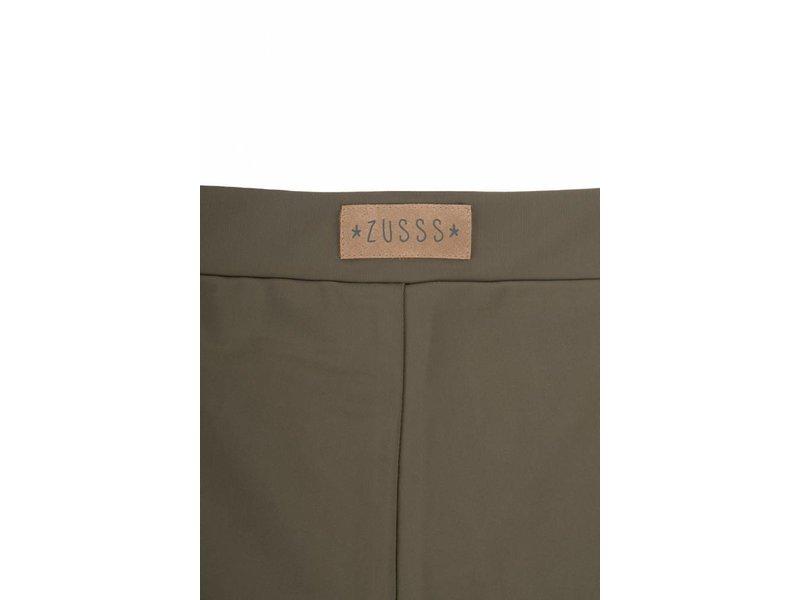 Zusss Gladde legging leemgroen - L/XL