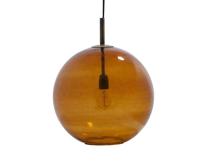 BePureHome Glazen Hanglamp Bold - Ø40xH40 cm