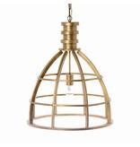 Riverdale Boston Gouden Hanglamp - 50xH60 cm