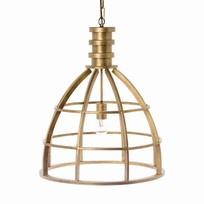 Boston Gouden Hanglamp - 50xH60 cm