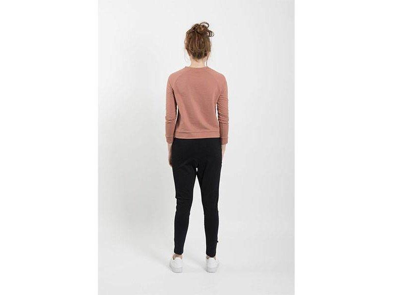 Zusss Makkelijke broek zwart - M/L