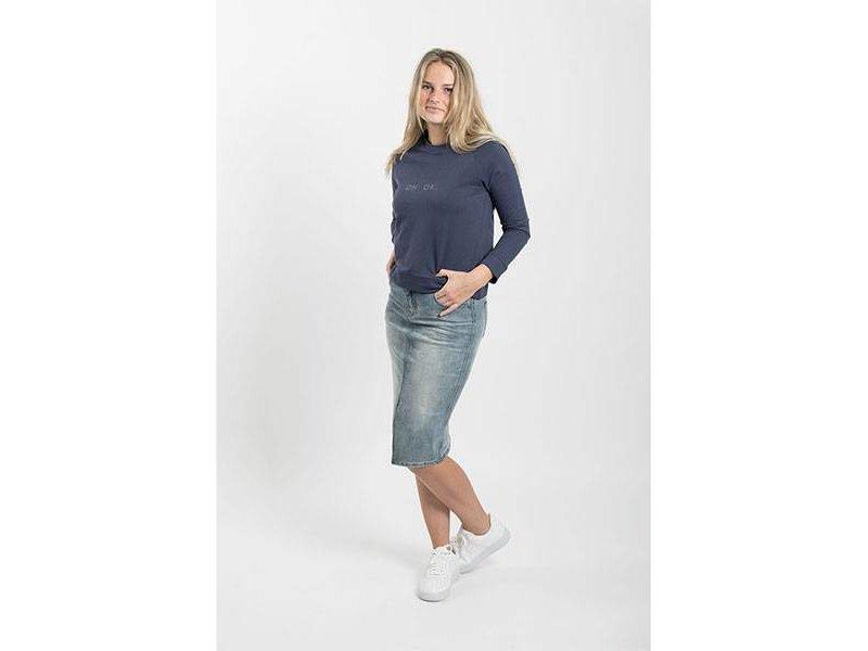 Zusss Stoere trui oh. ok. nachtblauw - L/XL