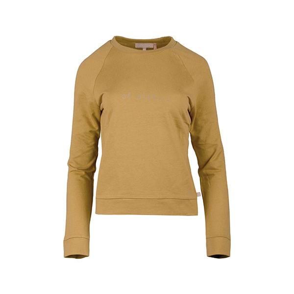 Zusss Stoere trui of niet... oker S M