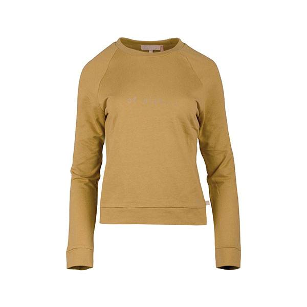 Zusss Stoere trui of niet... oker M L