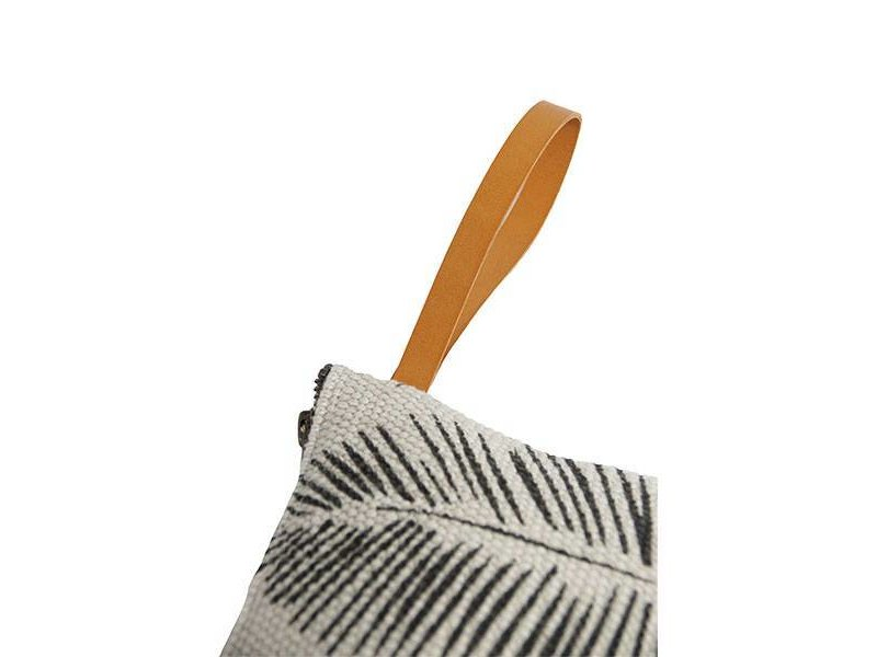 Zusss Make-up tasje met bladprint krijt