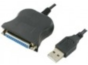 USB - Parallel Adapter Wandler HPGL