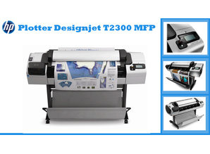 Designjet T2300 PS eMFP - Multifunktionsplotter - TOP Angebot - wenig benutzt - superschnell kopieren, scannen, plotten