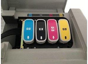 Designjet 500C DIN A0 - HPGL, mit Kunststoffverfärbungen - 2. Wahl - Windows XP bis Windows 10 - Nur für Selbstabholer