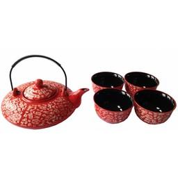Keramik Teeset 550ml in einem Geschenkkarton
