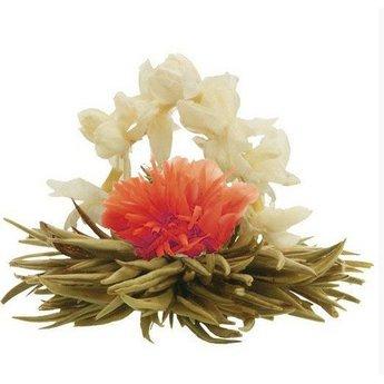8 fleurs de Thé Lily basket