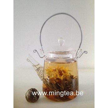 8 Golden Tower Teablumen