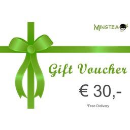 Bon cadeau d'une valeur de € 30