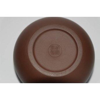 """Yixing Teekanne """" Xishi """" für 350 ml Inhalt, handgemacht aus rotem Ton"""