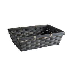 Emballage cadeau: Panier en Bambou noir + carte