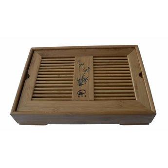 Table à thé en bambou