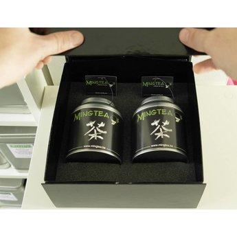 Mingtea Auswahl : Exklusiver WeißerTee in luxuriöser Verpackung