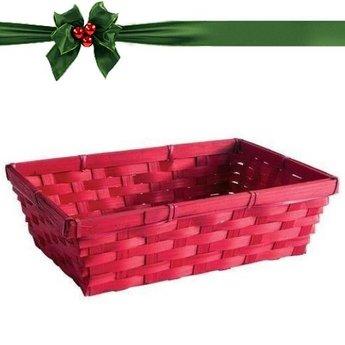 Geschenkverpackung : Körbchen und Karte