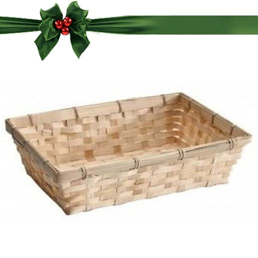 Panier De Cadeaux : Emballage cadeau panier en bambou carte mingtea