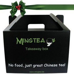 Cadeauverpakking: Mingtea Takeaway box!