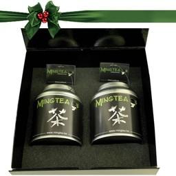 Mingtea Auswahl : Exklusiver grüner Tee in luxuriöser Verpackung