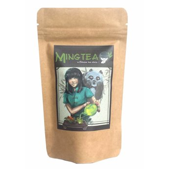 Thé vert au Ginseng et Gingembre