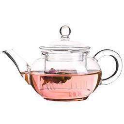 Glas Teekanne Flora + Filter 250ml