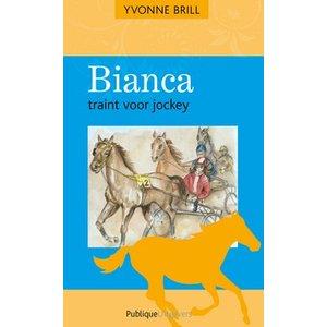 Bianca traint voor jockey