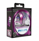 Philips H4 ColorVision Paars Duobox