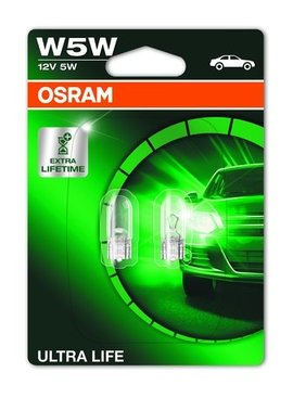 Osram Ultralife 12v 5w wedge base