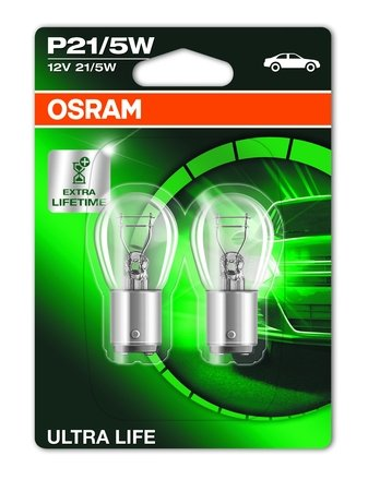 osram ultra life gloeilamp 12v 21 5w. Black Bedroom Furniture Sets. Home Design Ideas