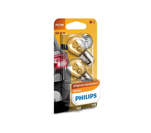 Philips Vision 12v 21/5w bay15d