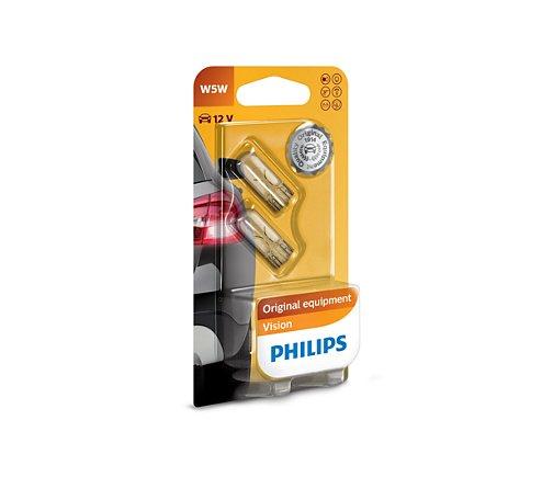 Philips Vision 12v 5w wedge base