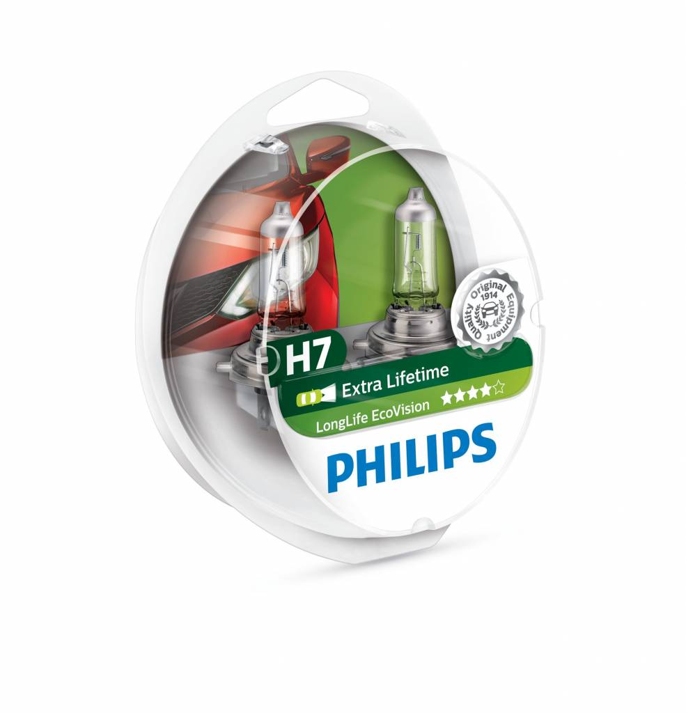 Philips H7 Longlife EcoVision Duobox