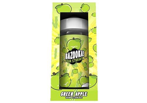 Bazooka! Sour Straws Green Apple (200ml)