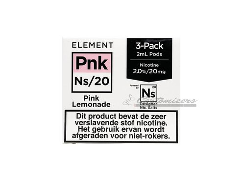 Element Pink Lemonade Ns/20 Pod