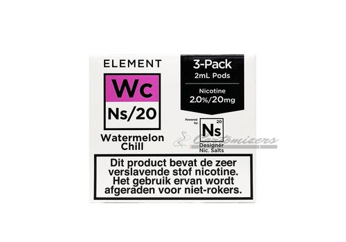 Element Watermelon Chill Ns/20 Pod