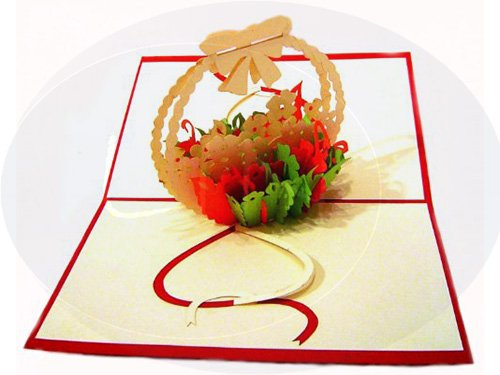Blumengesteck (rot)(Nr.35)