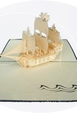Segelschiff (Galeone, Var. 1, blauer Umschlag)