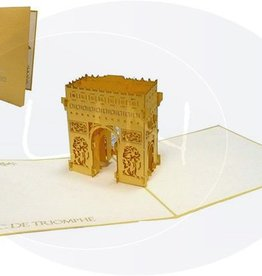 Pop Up Karte, Arc de Triomphe (Paris)
