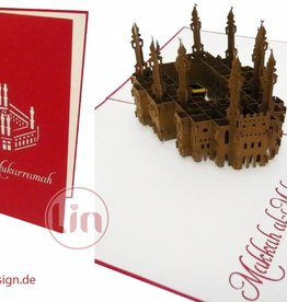 Pop Up Card, Pilgrimage Mekka