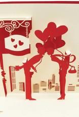 Brautpaar mit Herzen(Nr.72)